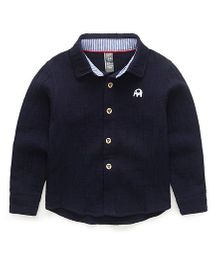 Pre Order - Awabox Ele Patch Shirt - Navy
