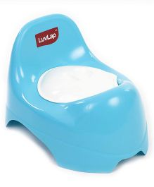 LuvLap Potty Trainer Chair With Lid - Blue