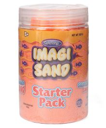 Imagician Playthings Craftival Imagi Sand Starter Pack (Sand Colour May Vary)