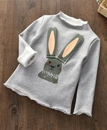 Pre Order - Awabox Rabbit Design Warm Top - Grey