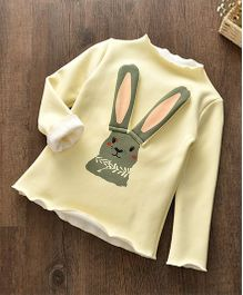 Pre Order - Awabox Rabbit Design Warm Top - Yellow
