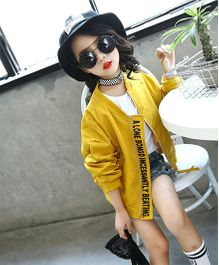 Superfie Cool Jacket - Yellow