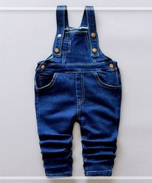 Pre Order - Superfie Denim Dungaree - Blue