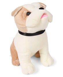 Funzoo Puppy Soft Toy Light Brown Off White - 23 cm