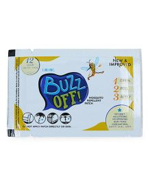 Buzz Off Mosquito Repellent Patch - Pack of 20