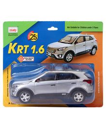 Centy Pull Back Action Fortuner Off Roader SUV Model Car - Grey