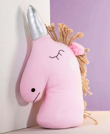 Abracadabra Decorative Unicorn Cushion - Pink