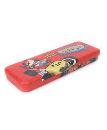 Disney Mickey Mouse Roadsters Pencil Box - Red
