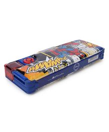 Marvel Spiderman Magnetic Pencil Box - Dark Blue & Red