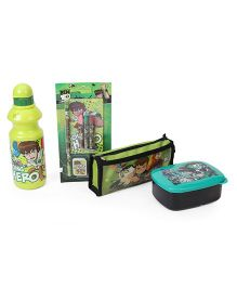 Ben 10 School Combo Set of 4 - Green Black