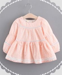 Superfie Little Flower Dress - Peach