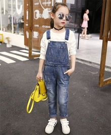 Pre Order - Awabox Smart Denim Dungaree - Indigo