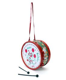 Luvely Drum Musical Drum Toy - Maroon