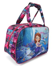 Disney Sofia Shopping Bag Blue & Pink - Length 27.5 cm