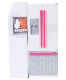 Barbie Fridge Toy - Off White & Pink