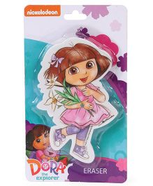 Dora Die Cut Shaped Eraser - Pink
