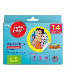 Good Knight Personal Mosquito Repellent Patches - 14 Pieces