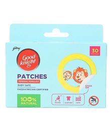 Good Knight Personal Mosquito Repellent Patches - 30 Pieces