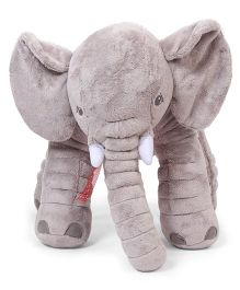Fun Toys Elephant Soft Toy Grey - Height 50 cm