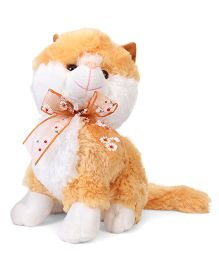Fun Toys Kitty Soft Toy Light Brown - Height 30 cm