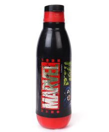 Marvel Insulated Flip Open Sipper Bottle Red & Black - 500 ml