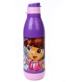 Dora Flip Open Sipper Bottle Purple Pink - 500 ml
