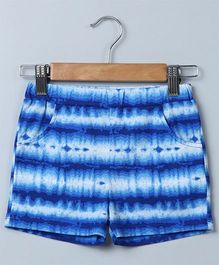 Beebay Tie And Dye Jersey Shorts - Blue