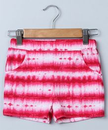 Beebay Tie And Dye Jersey Shorts - Pink