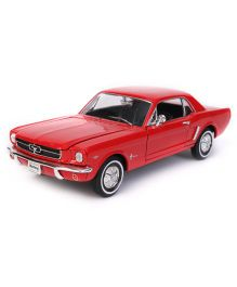 Welly Die Cast Ford Mustang Coupe Toy Car - Red