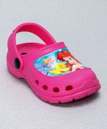 Cute Walk by Babyhug Clogs Ariel Design - Pink
