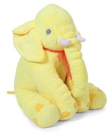 Fun Toys Elephant Soft Toy Yellow - Height 50 cm