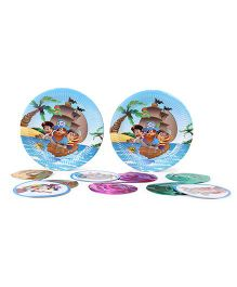 Themez Only Pirate Theme Birthday Party Kit - Multicolour