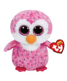Jungly World Glider Penguin Soft Toy Pink - Height 15 cm