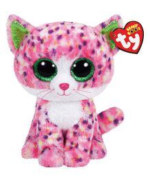 Jungly World Sophie Cat Soft Toy Pink - Height 23 cm