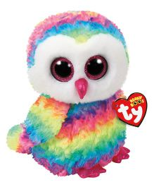 Jungly World Owen Owl Soft Toy Multi Color - Height 23 cm