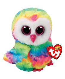 Jungly World Owen Owl Soft Toy Multi Color - Height 15 cm