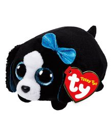 Jungly World Marci Dog Soft Toy Black - Height 10 cm