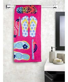 Turkish Bath Flip Flop Printed Bath Towels - Multi Colour