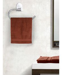 EuroSpa Premium Cotton Bath Towel - Brown