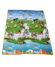Paramount Waterproof Double Sided Play Mat Animal Print - Multicolour