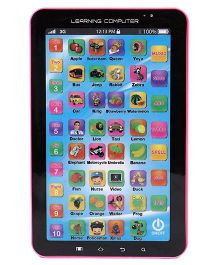 Emob Multimedia Learning Tablet With Music & Sound - Black & Pink