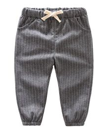 Pre Order - Awabox Striped Pants - Grey