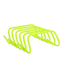 GSI Agility Hurdles Pack of 6 Yellow - 12 Inches