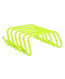 GSI Agility Hurdles Pack of 6 Yellow - 6 Inches