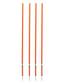 GSI Spring Loaded Slalom Poles Pack of 4 (Color May Vary)