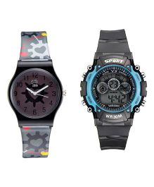 Fantasy World Sport Watch Combo - Black
