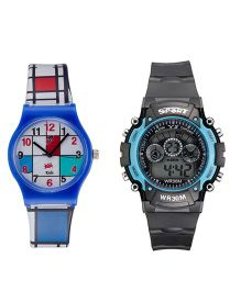 Fantasy World Sport Watch Combo - Dark Blue