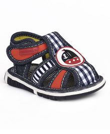 Cute Walk by Babyhug Sandals Ship Patch - Navy Blue