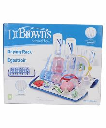 Dr. Browns Universal Drying Rack - Blue White