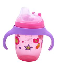 Mee Mee Bite Resistant Soft Spout Sipper Cup Pink - 240 ml